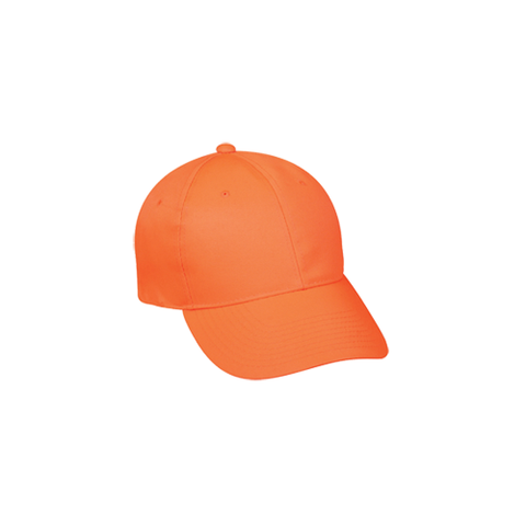 Youth Solid Blaze Orange Cap