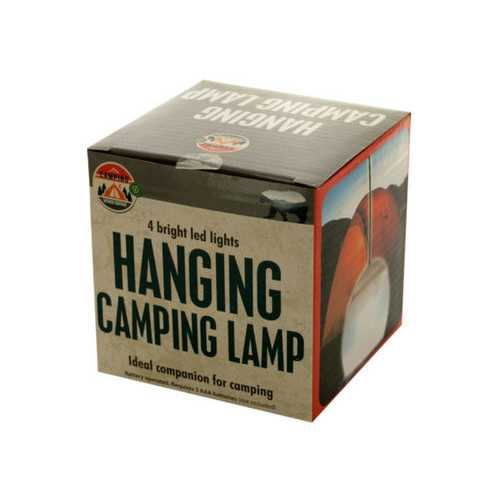LED Hanging Camping Lamp ( Case of 6 )