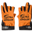 Ultra Angler 3 Finger Fishing Gloves 1 Pair Water-Resistant Anti-slip Non-Slip Outdoor Sport Gloves