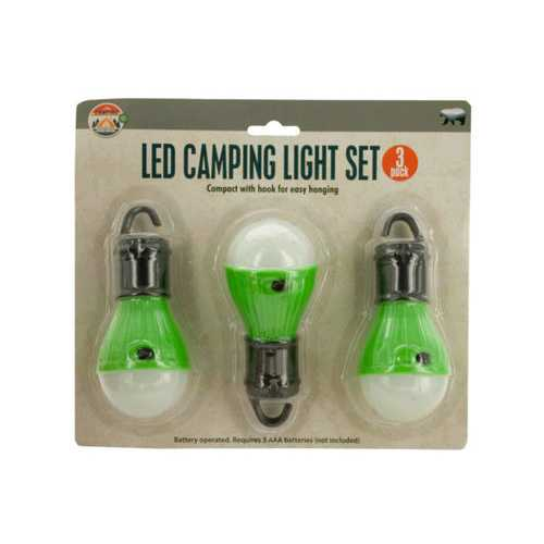 LED Hanging Camping Light Set ( Case of 12 )