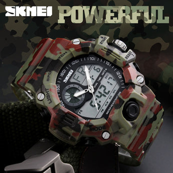 Skmei S Shock Men Sports Watches Swim Dive LED Digital Military Wristwatches Waterproof
