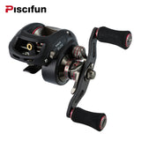 SAEX ELITE Baitcasting Fishing Reel Right Left Hand 13BB 7.3:1 167g Ultra Light Fishing Reel