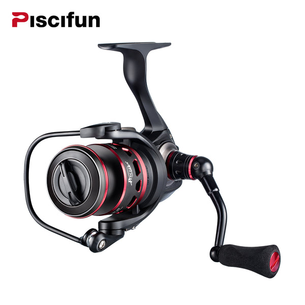 Piscifun Honor Spinning Reel 10+1 BB Sealed Carbon Fiber Drag Medium Light Spin Fishing Reels