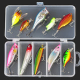 Fishing Lure  Minnow/Popper/Wobbler Spoon Metal Lure Soft Bait Fishing Lure Kit Artificial Mixed Color/Style/Weight