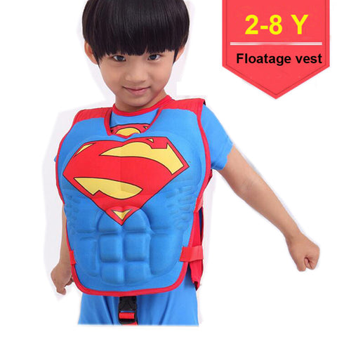 2-6 Years Baby Swim Vest Float Kid Swim Trainer Boy Girl Buoyancy Swimwear Child Life Vest Buoy Swimming Circle Pool Accessories