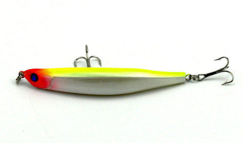 9cm 8.2g Bent Minnow Artificial Fishing Lure Hard Plastic 3D Fish Eye Swimbait Salt/Fresh MI051