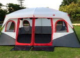 Ultralarge 6-10 person double layer two bedroom party family beach tourist camping tent