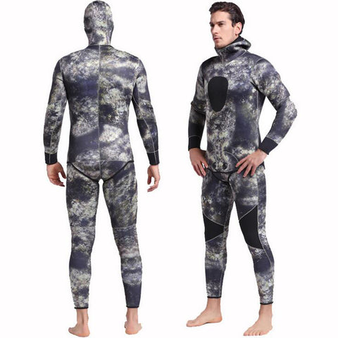 Men's Neoprene 3mm Scuba Dive Wetsuit Spearfishing Surfing Diving Swimming