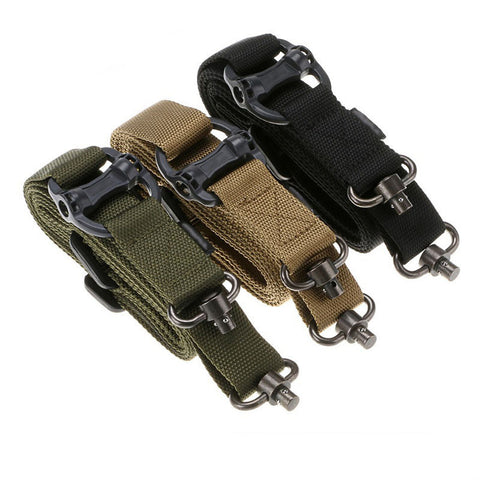 2 Point Rifle Sling Ultra Angler Survival Hunting Military Law Enforcement