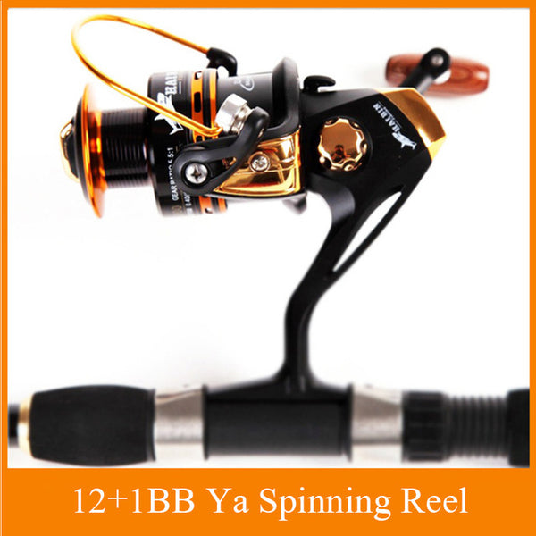 Fishing Spinning Reel 12+1 Bearing Balls Spinning reel Super Strong 5.5:1 Carp Sea Bay Inlet Pier