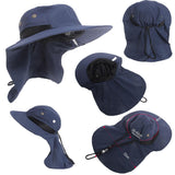 Boonie Hat Fishing Hiking Safari Outdoor Sun Brim Bucket Bush Cap Casual Style Ultra Angler