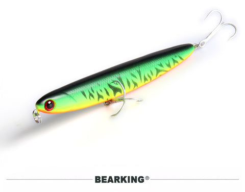 Bearking hot fishing lures hard bait 8color to choose 110mm 13g quality professional minnow