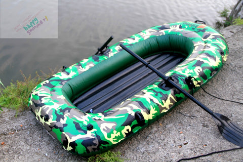 camouflage printing pvc boat 0.35 mm 2 person inflatable leisure boat water pool river lake rafts