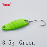 Fishing Spoon 007 Loong Scale BKK HOOK 3.5g/5g 32-34mm Multicolor 6PC Spoon Fishing Lures