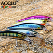 Jerkbait 13.5cm 18.5g Minnow Crank fishing lure Magnet Bass Fresh VMC hooks 5 colors