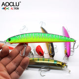Jerkbait wobblers 7 Colors 13cm 20.0g Hard Bait Minnow Fishing lures Bass Fresh Salt 4# VMC hooks