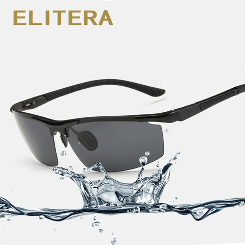 ELITERA Aluminum Magnesium Men's Sunglasses Polarized Driving Fishing Outdoor E3085