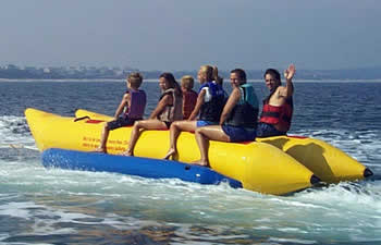 Water banana boat, inflatable boat water game banana boat