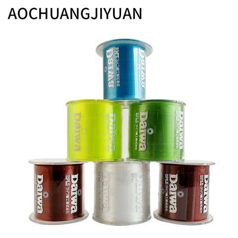 500m Nylon Fishing Line Japanese Durable Monofilament Rock Sea Daiwa Thread Bulk Spool All Size 4 Colors 0.4 to 8.0
