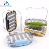 Maximumcatch Waterproof Fly Fishing Box With Slit Foam Fishing Lure Hook Bait Fly Box Fishing Tackle Box