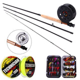 8.86FT #5/6 Fly Fishing Rod Set 2.7M Rod and Reel Combo Fishing Lure Line Box Set Ultra-Angler