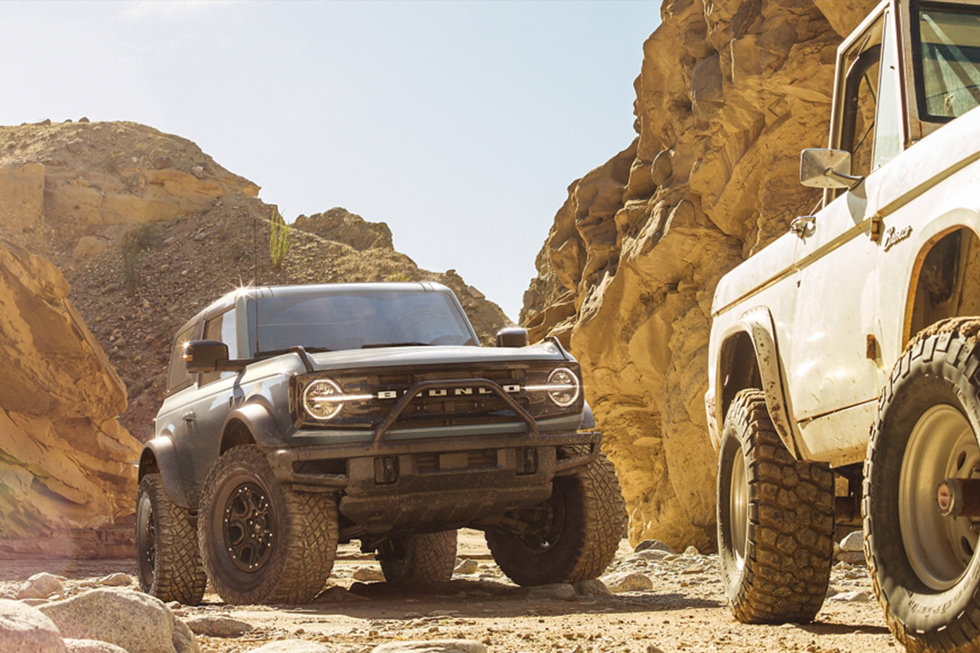 Ford Drops The 2021 Bronco 4x4 SUV
