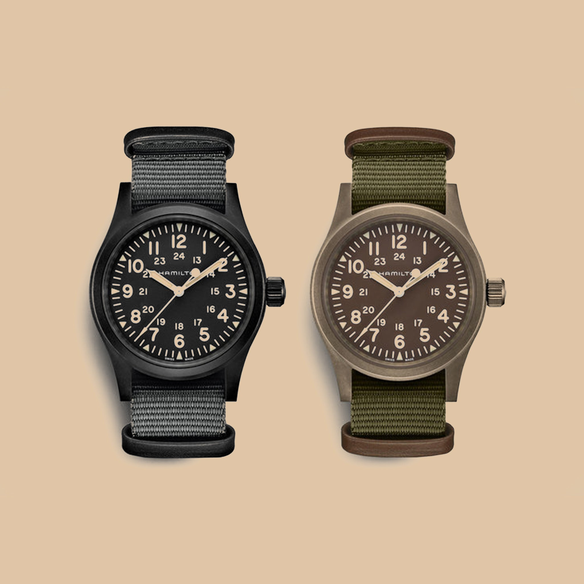 Hamilton Brings Back The 1960s Field Mechanical Watch