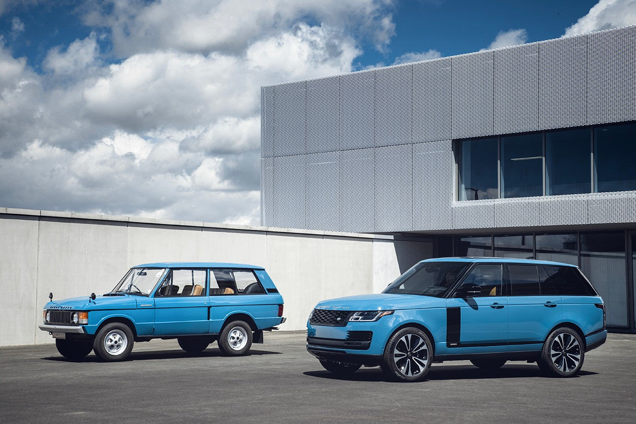 "Range Rover drops the Limited ""Fifty"" Model"
