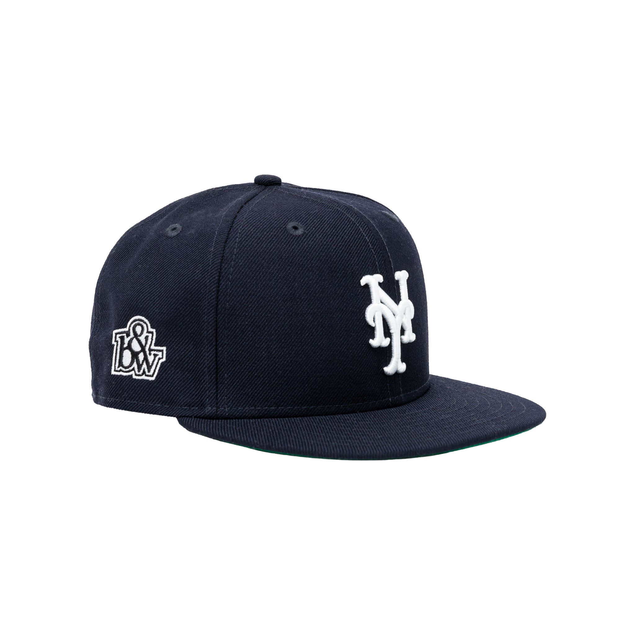 b&w x New Era for The New York Mets, Navy