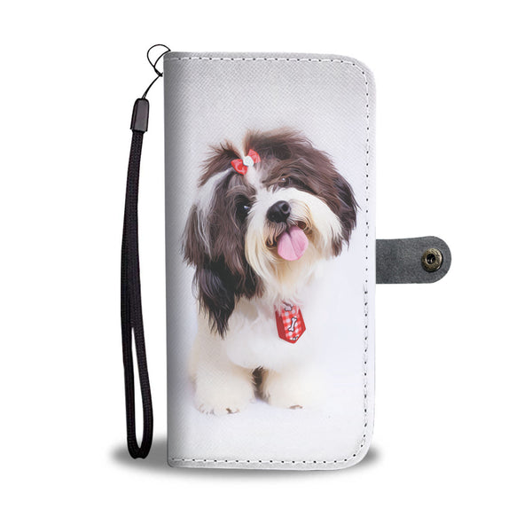 Super Cute SHIH TZU Phone Wallet Case - Available for All Devices!