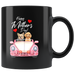Happy Mothers Day Coffee Mug Gift|Yorkie Poodle Mothers Day Dog Lover Gift