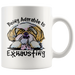 Being Adorable is Exhausting Funny Shih Tzu Dog Lover Coffee Mug