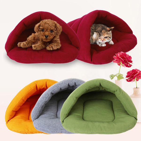 Plush Pooch Napping Cave