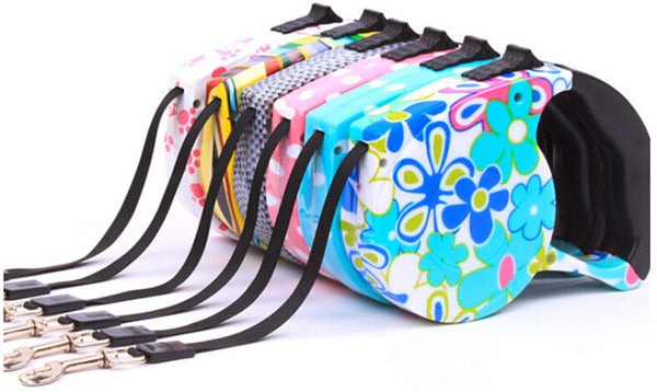 Colorful And Retractable Dog Leash (5M)