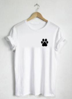 Paw Print Women's T-Shirt