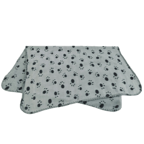 Paw Prints Puppy Blanket