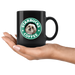 Shih Tzu Starbucks Coffee Funny Shih Tzu Black Coffee Mug