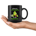 All I Need is Coffee and My Dog It is Too Peopley Outside Funny Grinch Dog Lover Coffee Mug