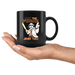 May The Force Be Shih Tzu Star Wars Funny Shih Tzu Coffee Mug