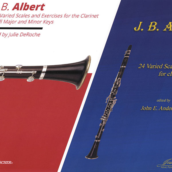 Albert: 24 Varied Scales & Exercises