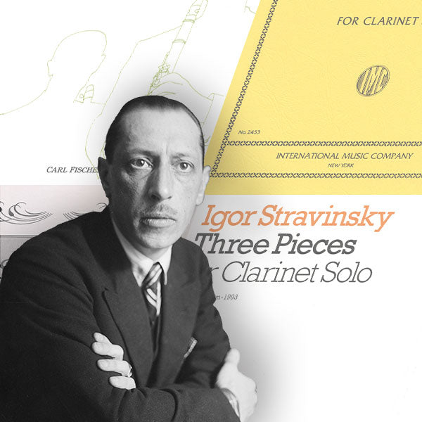 Stravinsky: 3 Pieces for Clarinet Alone