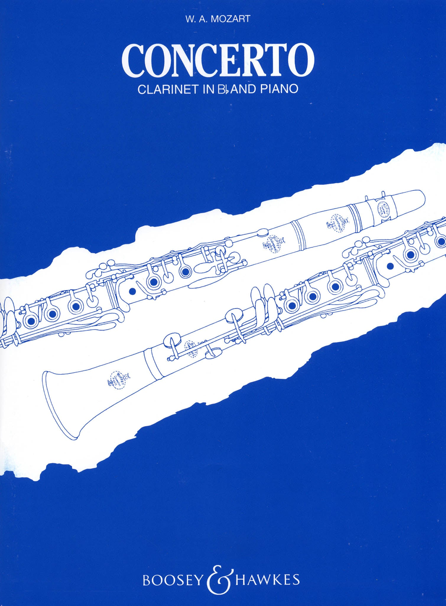 Clarinet Concerto in A Major, K. 622 Cover