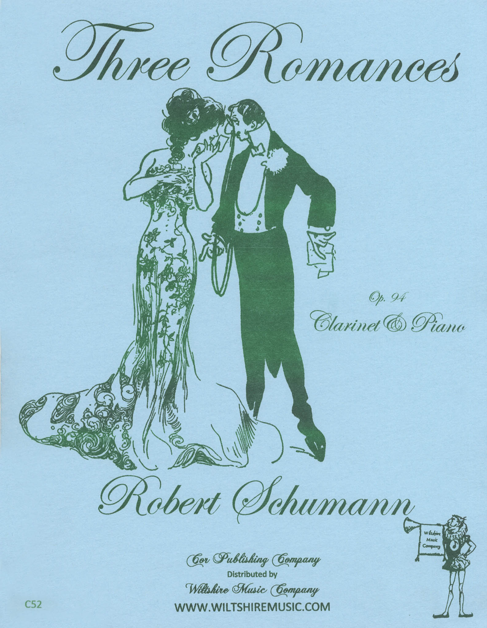 Schumann 3 Romances, Op. 94 Cover