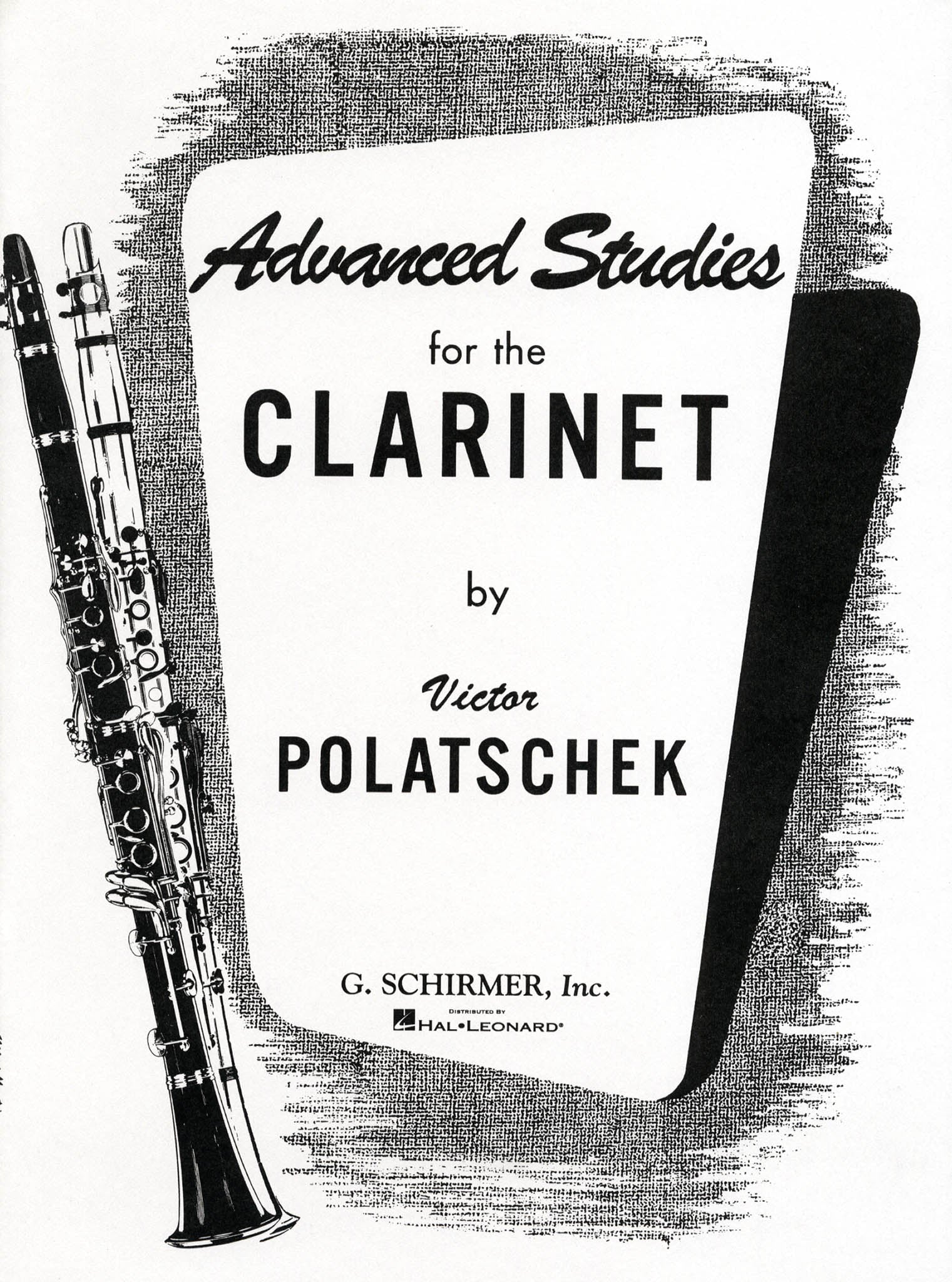 Advanced Studies for the Clarinet Cover