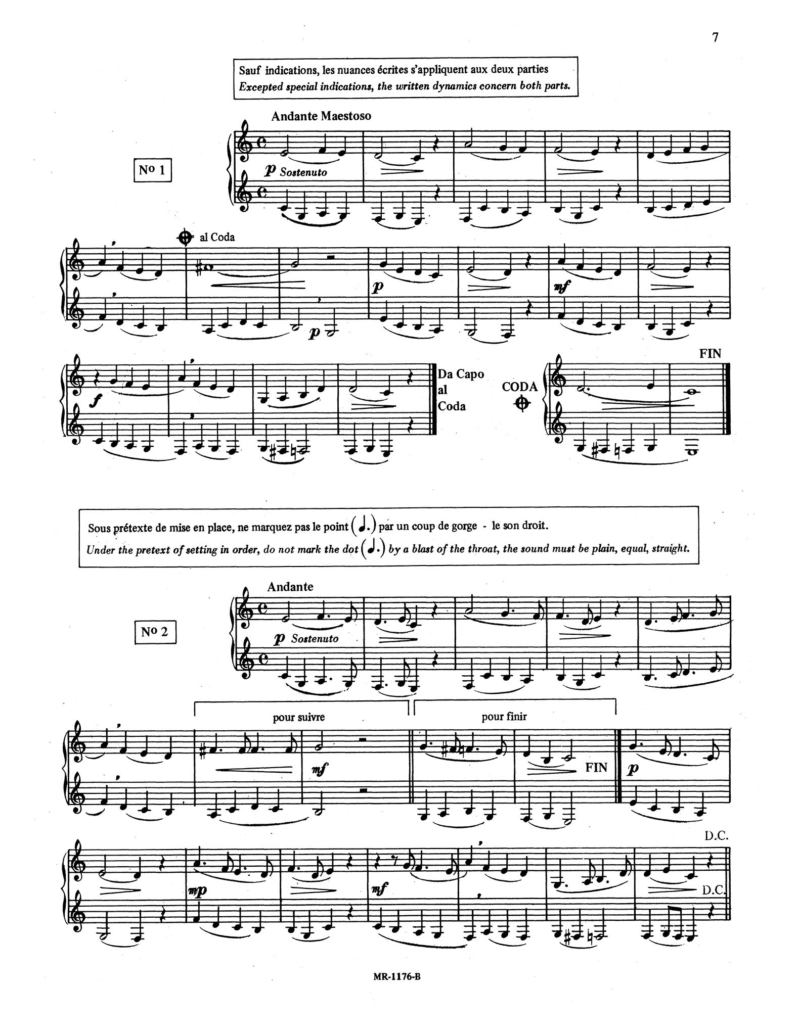 30 Intermediate Studies in Style for Clarinet Page 7