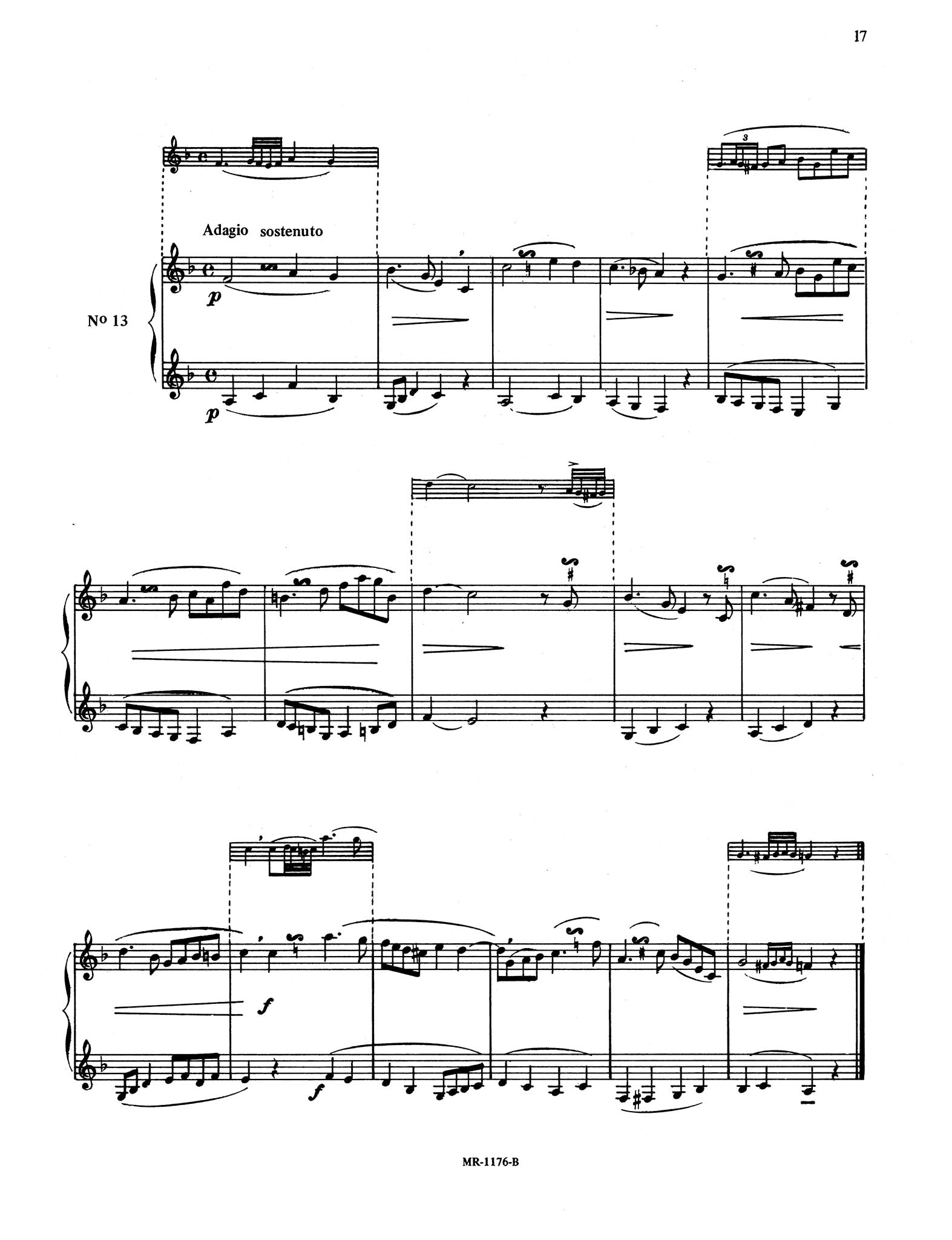 30 Intermediate Studies in Style for Clarinet Page 17