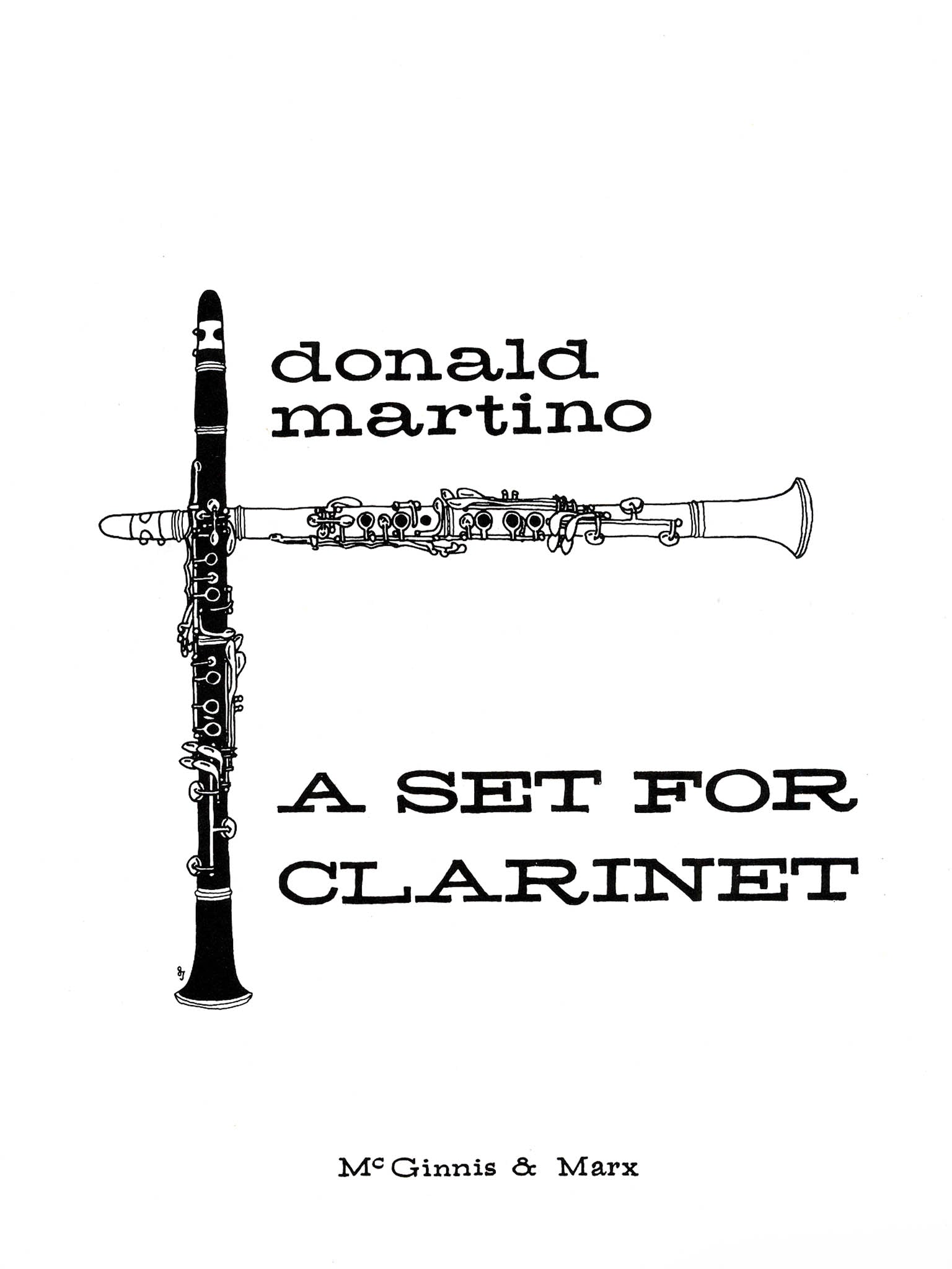 A Set for Clarinet Cover