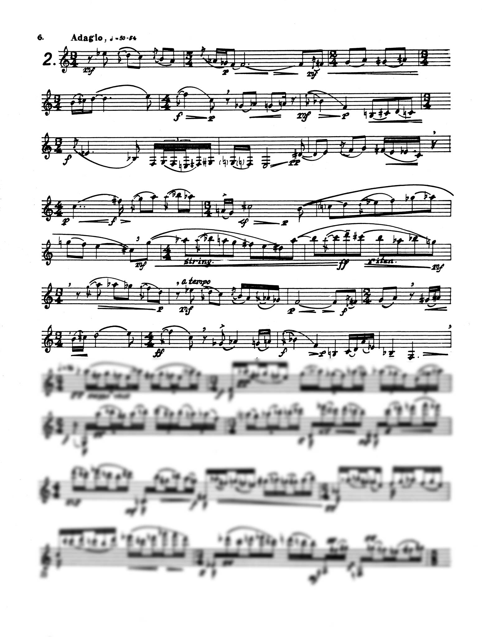 A Set for Clarinet - Movement 2