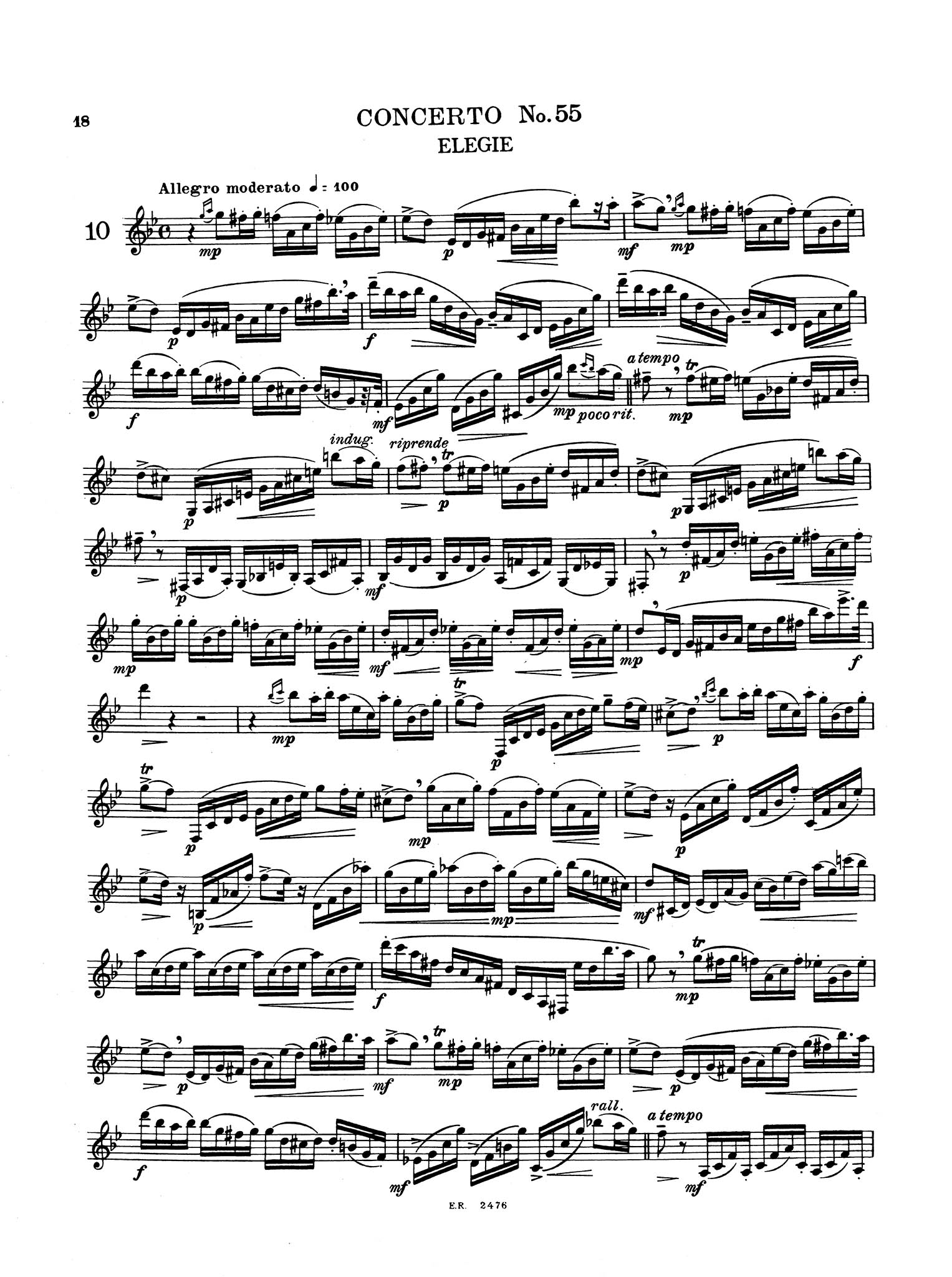 16 Grand Concert Studies for Clarinet - Page 18