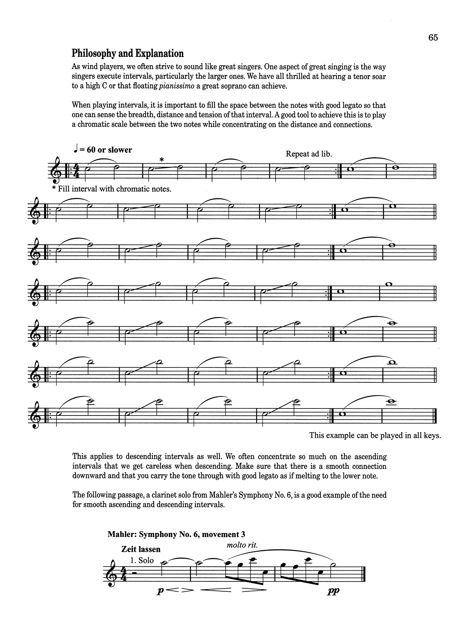 The Vandoren Etude and Exercise Book for Clarinet Page 65